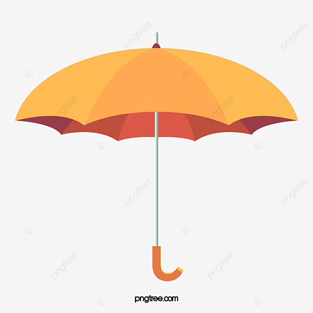 vector clipart yellow umbrella - Jaxstorm.realverse.us