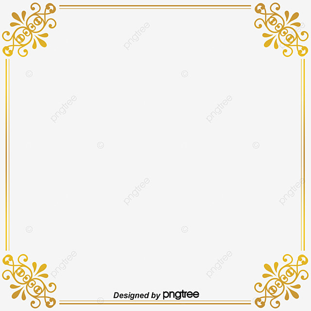 Ancient Golden Frame Png Png Ancient Box Vector Ancient Box Frame PNG And Vector For Free