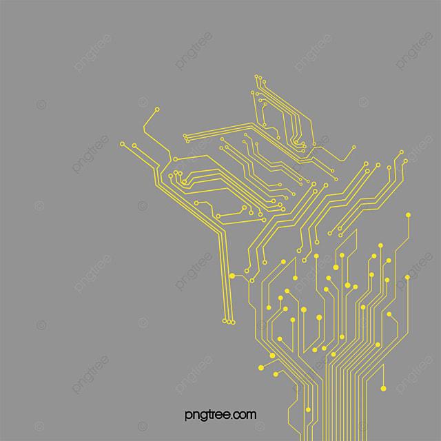 gold circuit board circuit diagram  gold vector  circuit