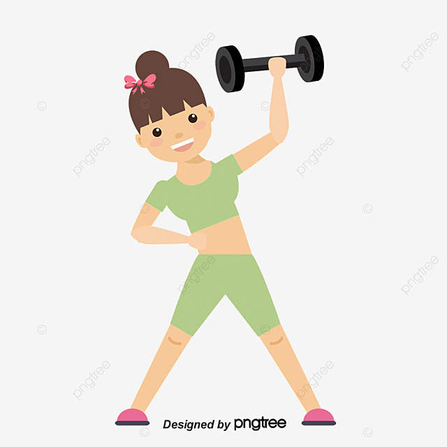 Image result for exercise cartoon