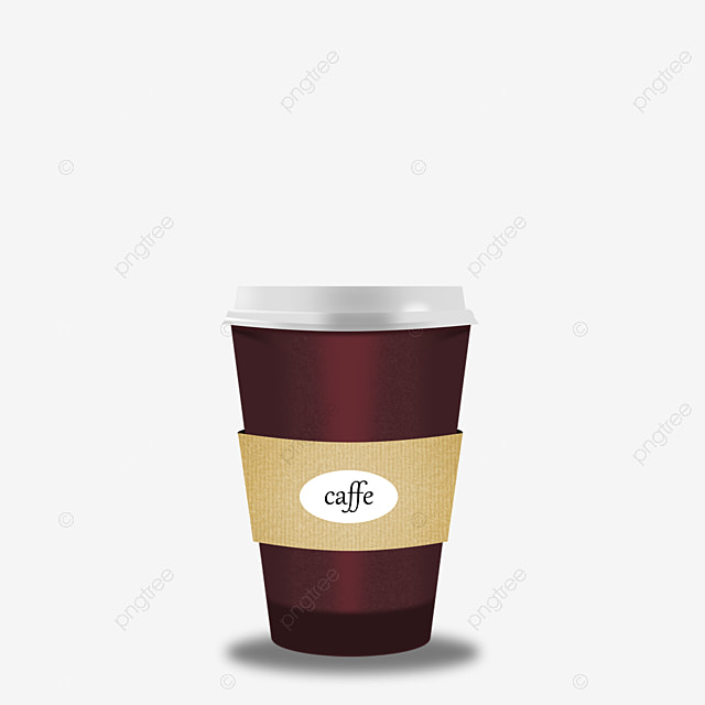 Free Coffee Cups To Pull The Image Paper Mug Disposable PNG