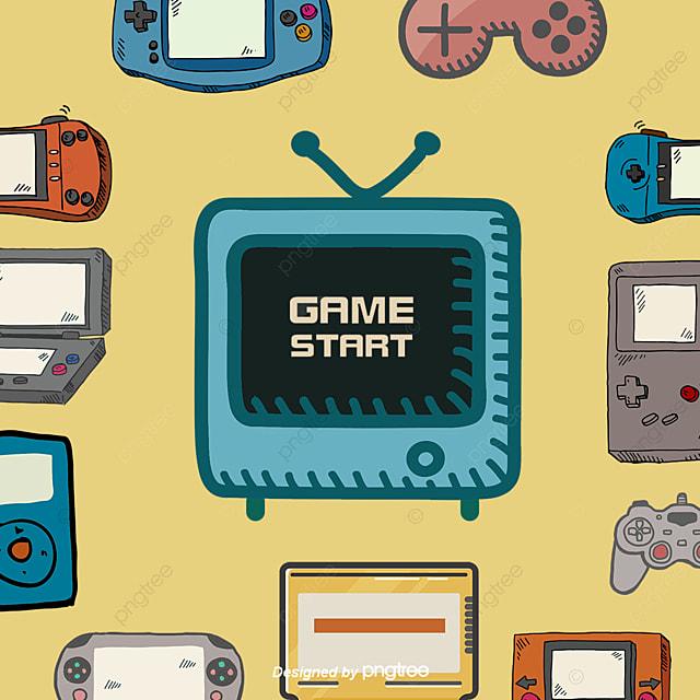 Vector Video Juegos Retro Tv Electric Png Y Vector Para Descargar Gratis