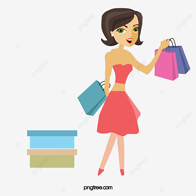 women shopping vector the mall paper bags try png and vector for rh pngtree com shopping vector freepik shopping victoria texas