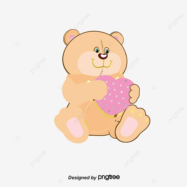 oso de dibujos animados de amor cartoon amor oso png y vector para