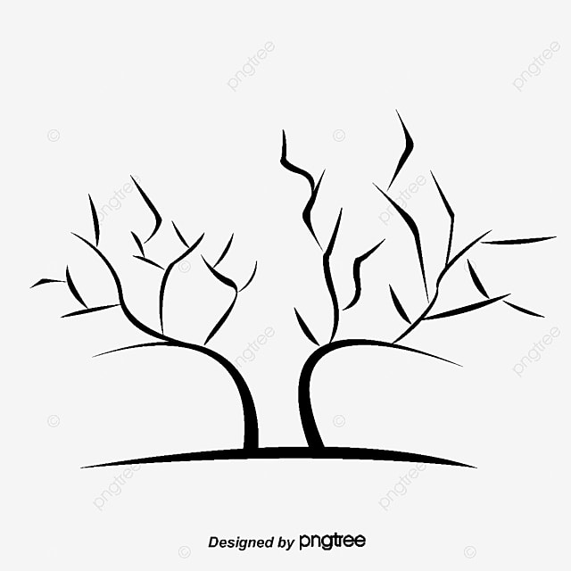 2017 Black Winter Tree Without Leaves Black 2017 Leaf Png Clipart