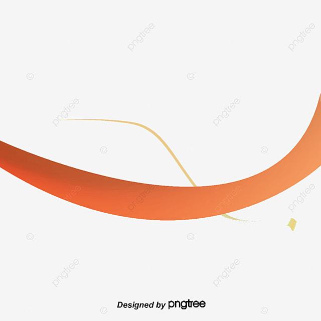 Líneas Amarillas Curva Suave Amarillo Línea Suave PNG Y