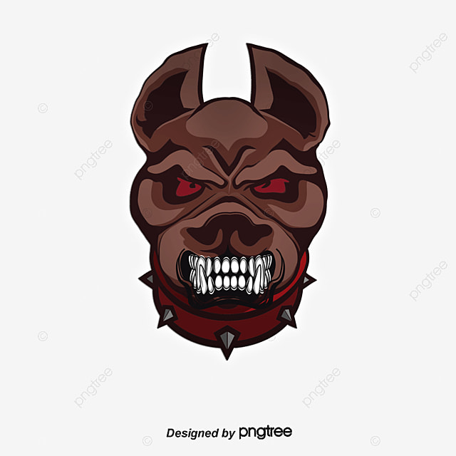 Ferocious dog cartoon picture, Cartoon Avatar, Ferocious, Dog PNG and Vector for Free Download