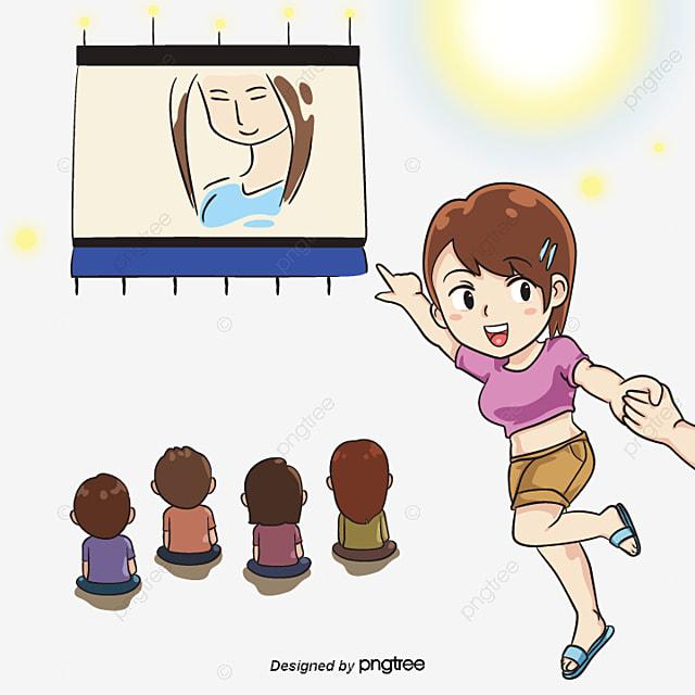 Los Niños Dibujando Una Casa Casa Los Niños Crayon PNG y Vector para ...