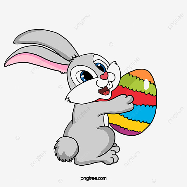 huevos de conejo de dibujos animados  conejo  huevos  tom u00f3 easter rabbit clipart free easter bunnies clipart black and white