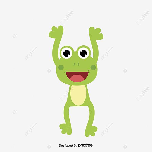 Grenouille Couronne petite grenouille de porter la couronne animal dessin belle