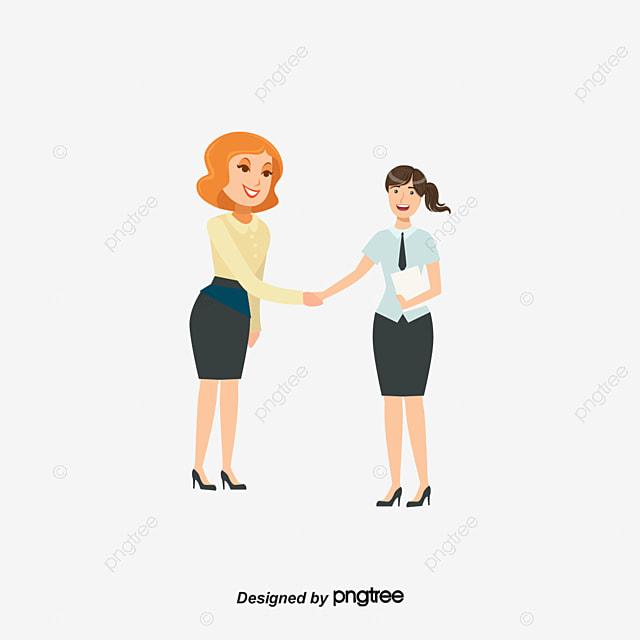 businessman handshake handshake vector cooperation