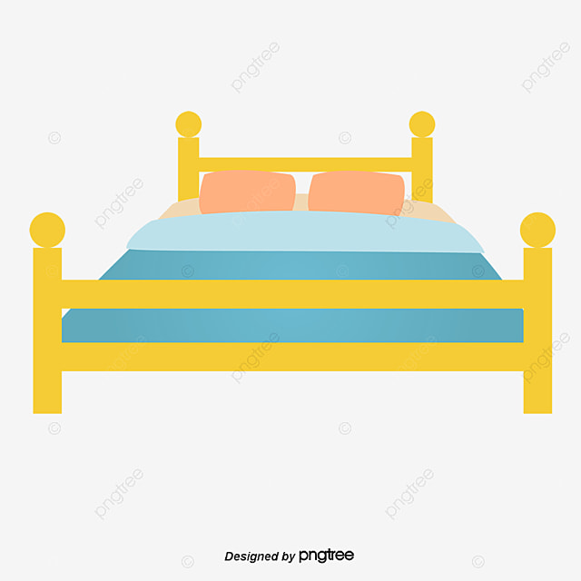A Cartoon Bed Cartoon Vector Cartoon Bed Png And Vector