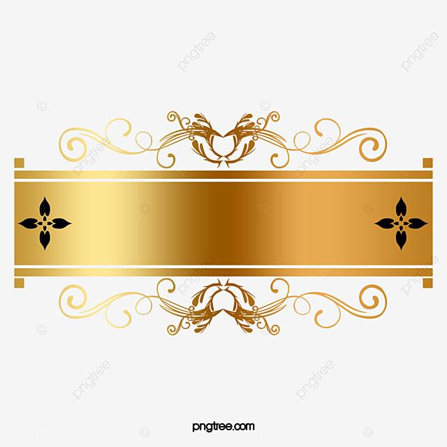 cadre de motif d coratif dor cadre d coration or image png pour le t l chargement libre. Black Bedroom Furniture Sets. Home Design Ideas