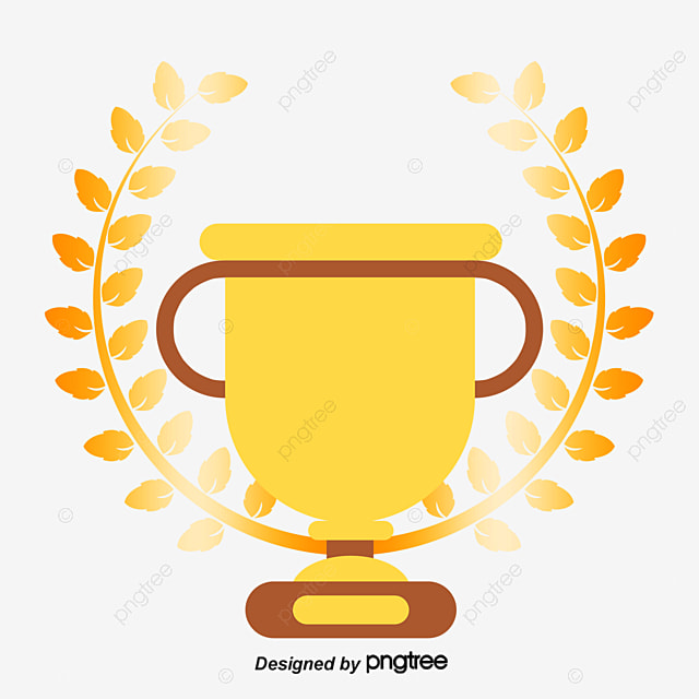 gold trophy cup golden cartoon png and psd file for free download