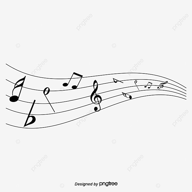 Beautifully Colored Music Symbols Music Vector Color Music Png