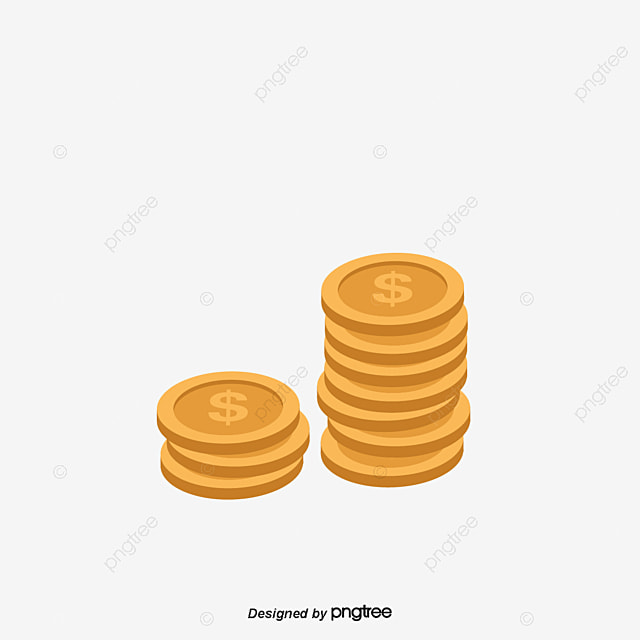 gold coins pile of money gold coin pile png and vector