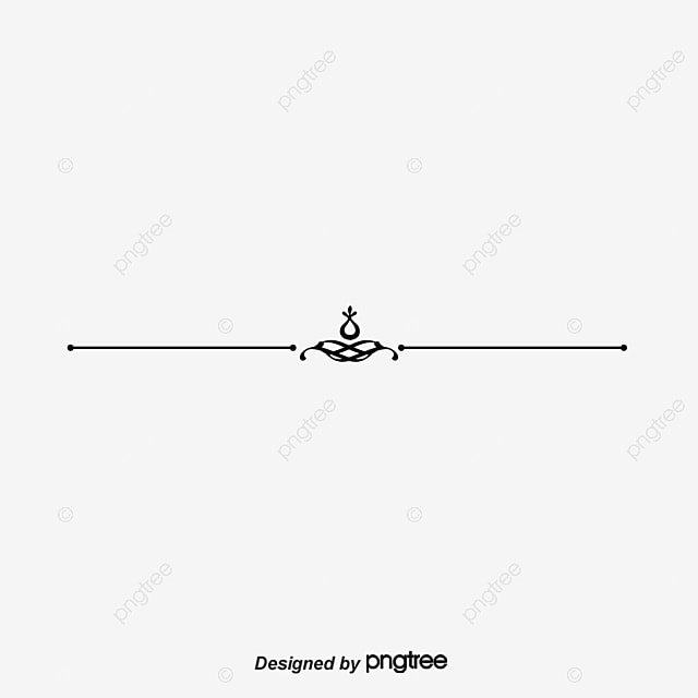Single Line Word Art : Dividing line pattern vector