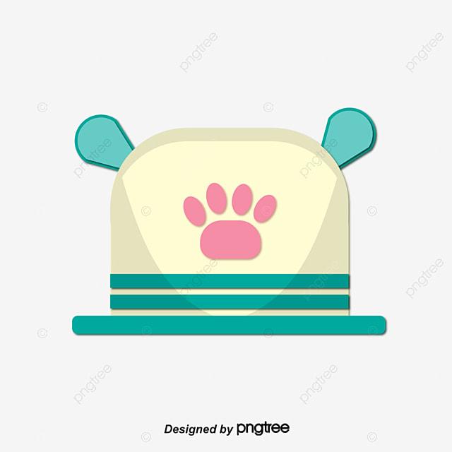 Anjing Makan Makanan Plat Kartun Tangan Dilukis Anjing Disc
