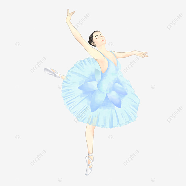 cute ballerina cartoon free pull ballet png image and clipart for rh pngtree com free ballet clipart images ballet clipart free download