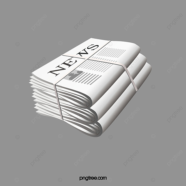 Stack Of Newspapers, Newspaper, Usa Daily PNG Transparent ...