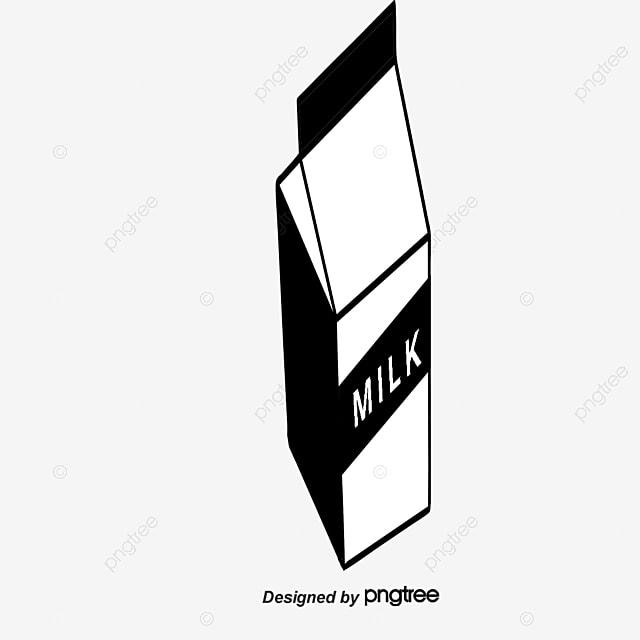 a carton of milk vector vector cartoon box png and