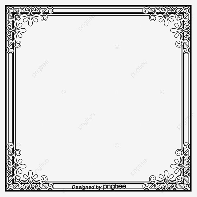 Picture Frame Vector Free Download Border Frame Shading Borders Pattern Png And Vector