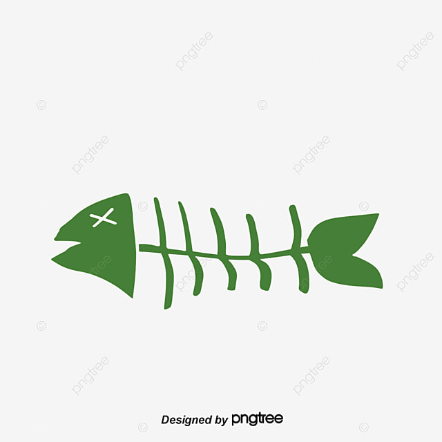 Vector blue fishbone vector blue blue vector fish bone for Fish without bones