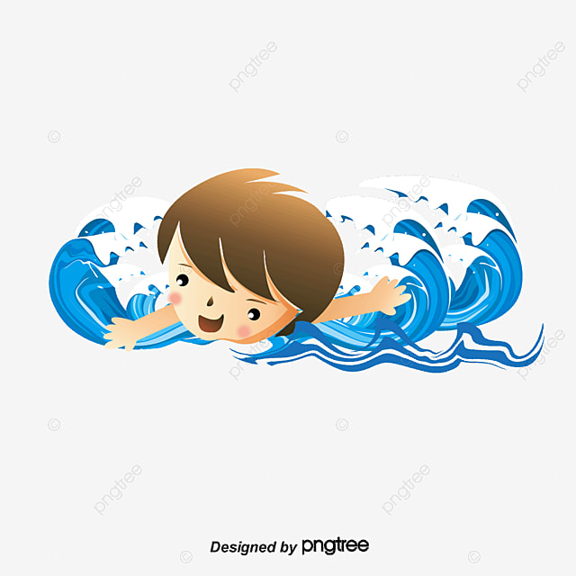 Boys Swimming Swimming Vector Swim Boy Png And Vector