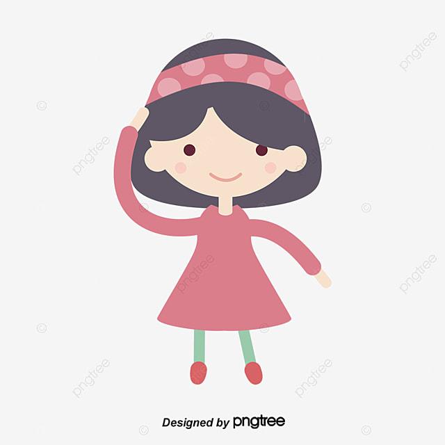 Fashion Clipart Little Girl