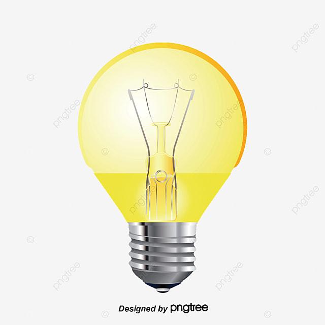 اللمبة الصفراء, أصفر, لمبة, ضوء لمبة PNG والمتجهات للتحميل ...