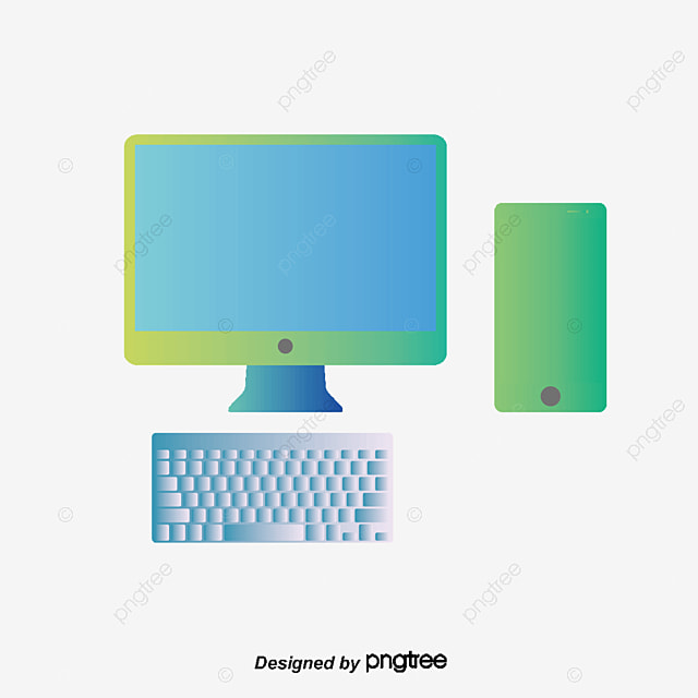 Dibujos animados de computadoras de escritorio Ordenador Cartoon