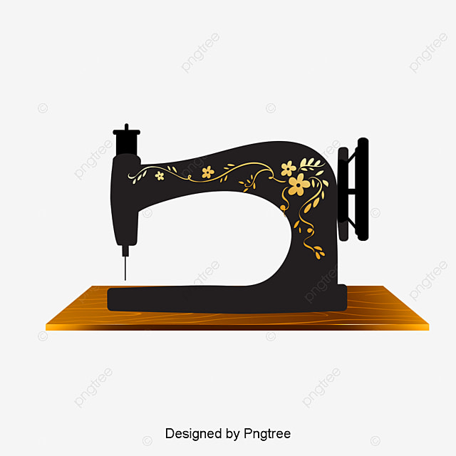 Vintage Sewing Machine Retro Sewing Machine Tailor Png