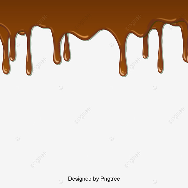 une goutte de mat u00e9riau vecteur de chocolat le chocolat de