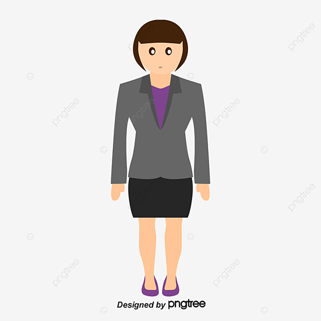 Vector High School Students Girl Steady Vector Png And
