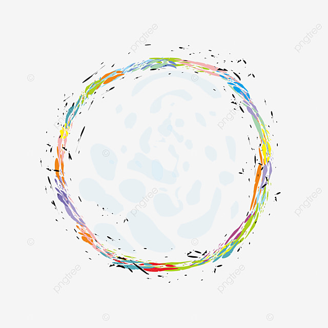 Color Circular Confetti Color Clipart Confetti Clipart