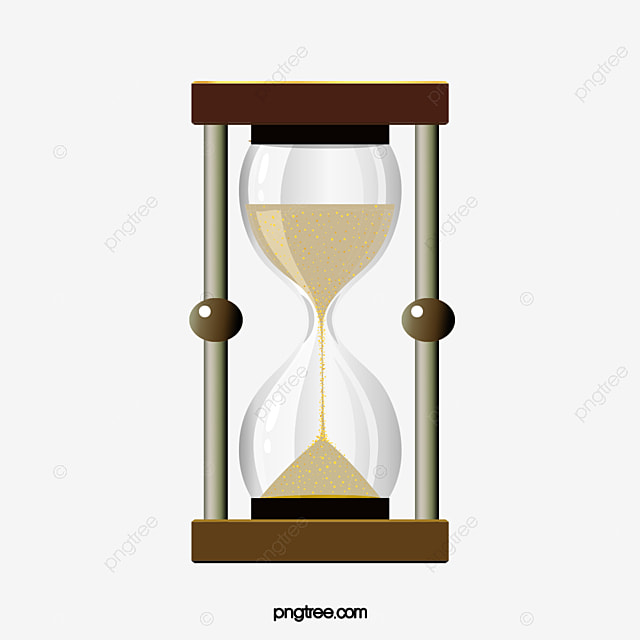hourglass timer creative timer png image and clipart for