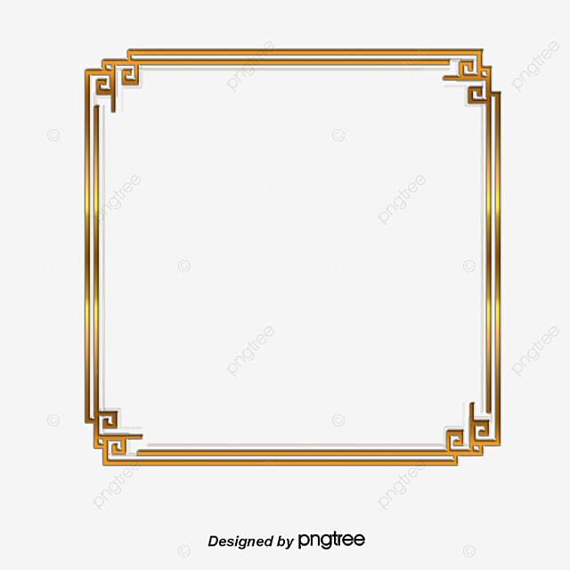 08022d9f46d4 Vector Golden Square Frame