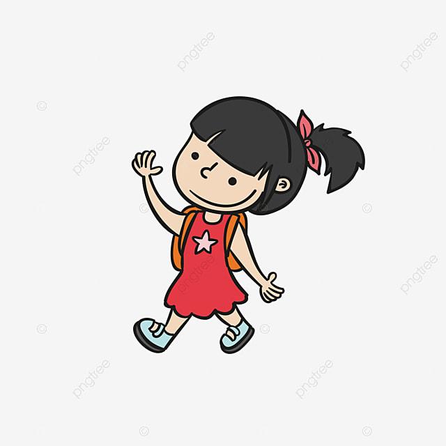 cartoon petite fille animal blue boucle image png pour le