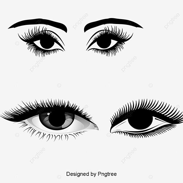 cartoon noir les yeux noir des yeux de dessin anim u00e9 cil