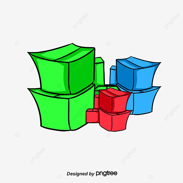 une pile de cartons de la bo te bo te en carton papier kraft fichier png et psd pour le. Black Bedroom Furniture Sets. Home Design Ideas
