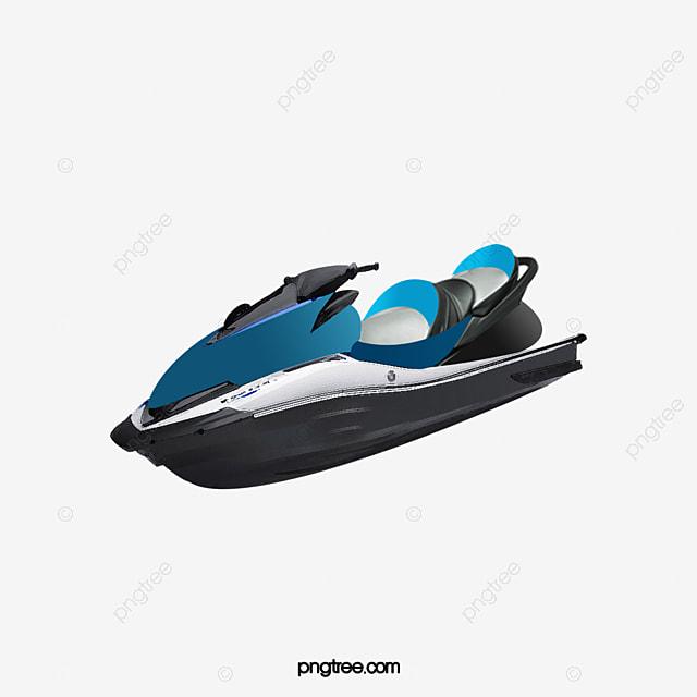 Blue Jet Ski, Blue, Jet, Ski PNG Transparent Clipart Image