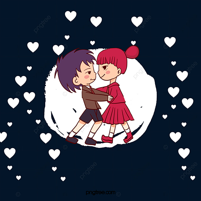 lovely couple kissing vector material kiss lovely lovers png and