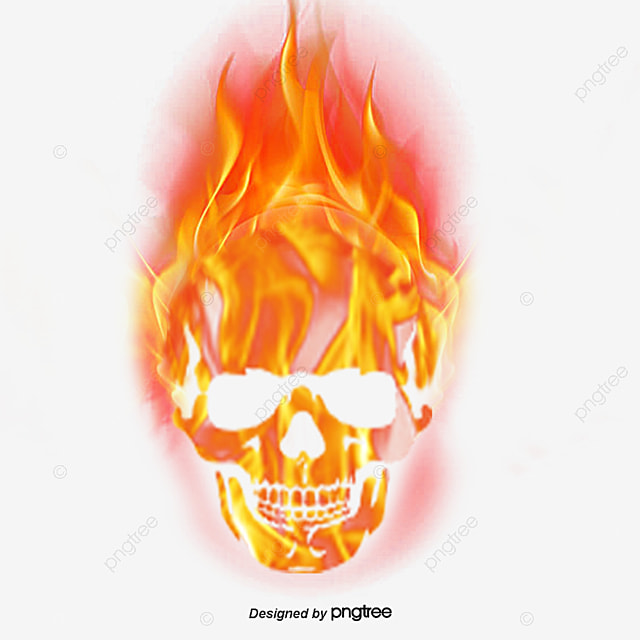 how to clean a skull with fire