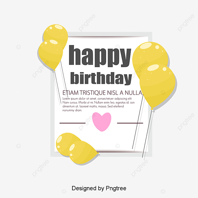 Birthday Cards Birthday Greeting Cards Png And Vector For Free