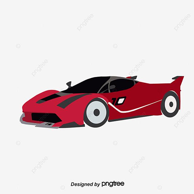 vert de voiture de sport dessin graphique vectoriel