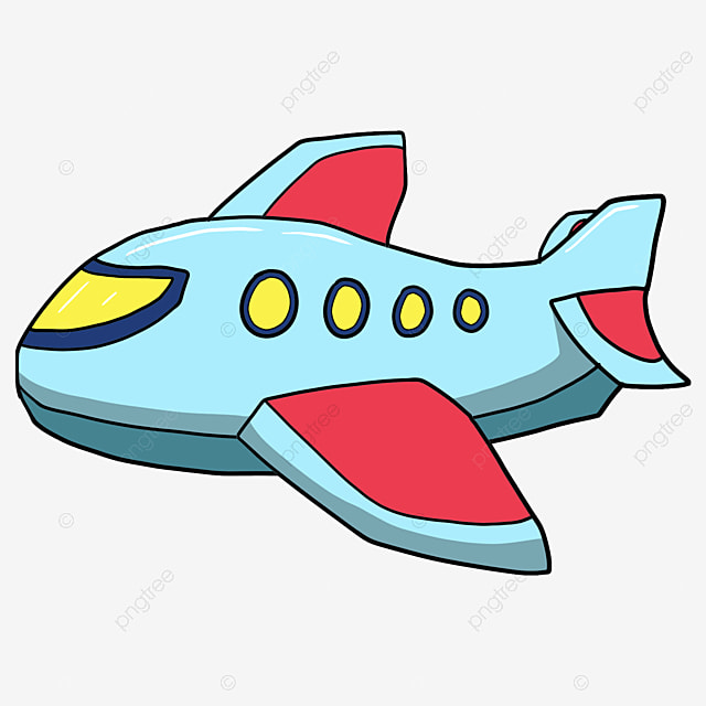 Cartoon Airplane Model, Airplane Clipart, Cartoon Airplane ...
