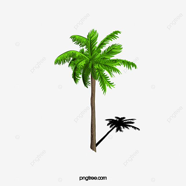 A Palm Tree 3d, Tree Clipart, Hand Painted Palm, Trees PNG