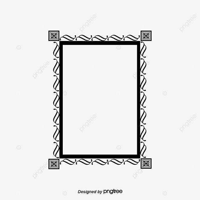 Black Border Box Creative Table, Tabular Frame Material, Vector ...