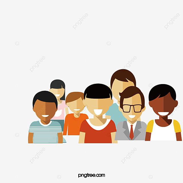vector grupo de personas vector un grupo de personas personaje png y