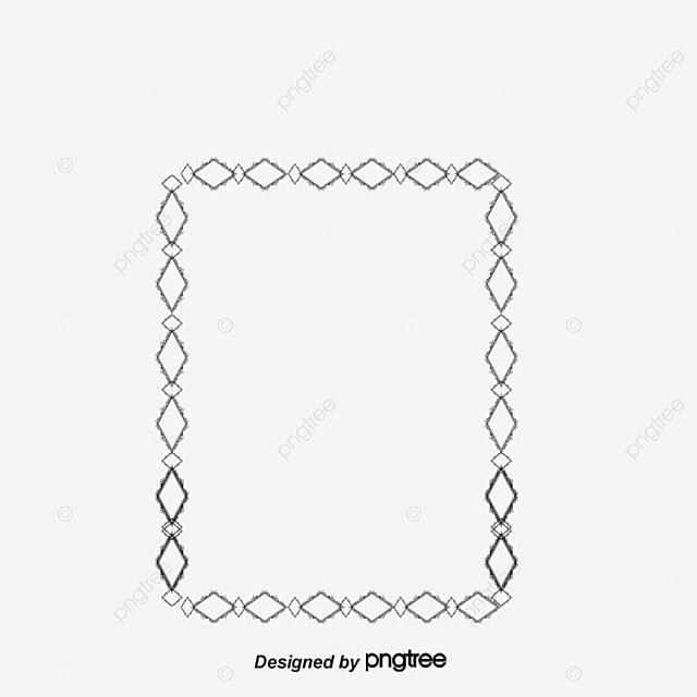 Cuadro Marco De Lineas Simples Vector Material, Tabular Frame Vector ...